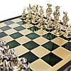 Шахматы «Мушкетеры», зеленые, Manopoulos, 40х40 см (088-1206SK), фото 3