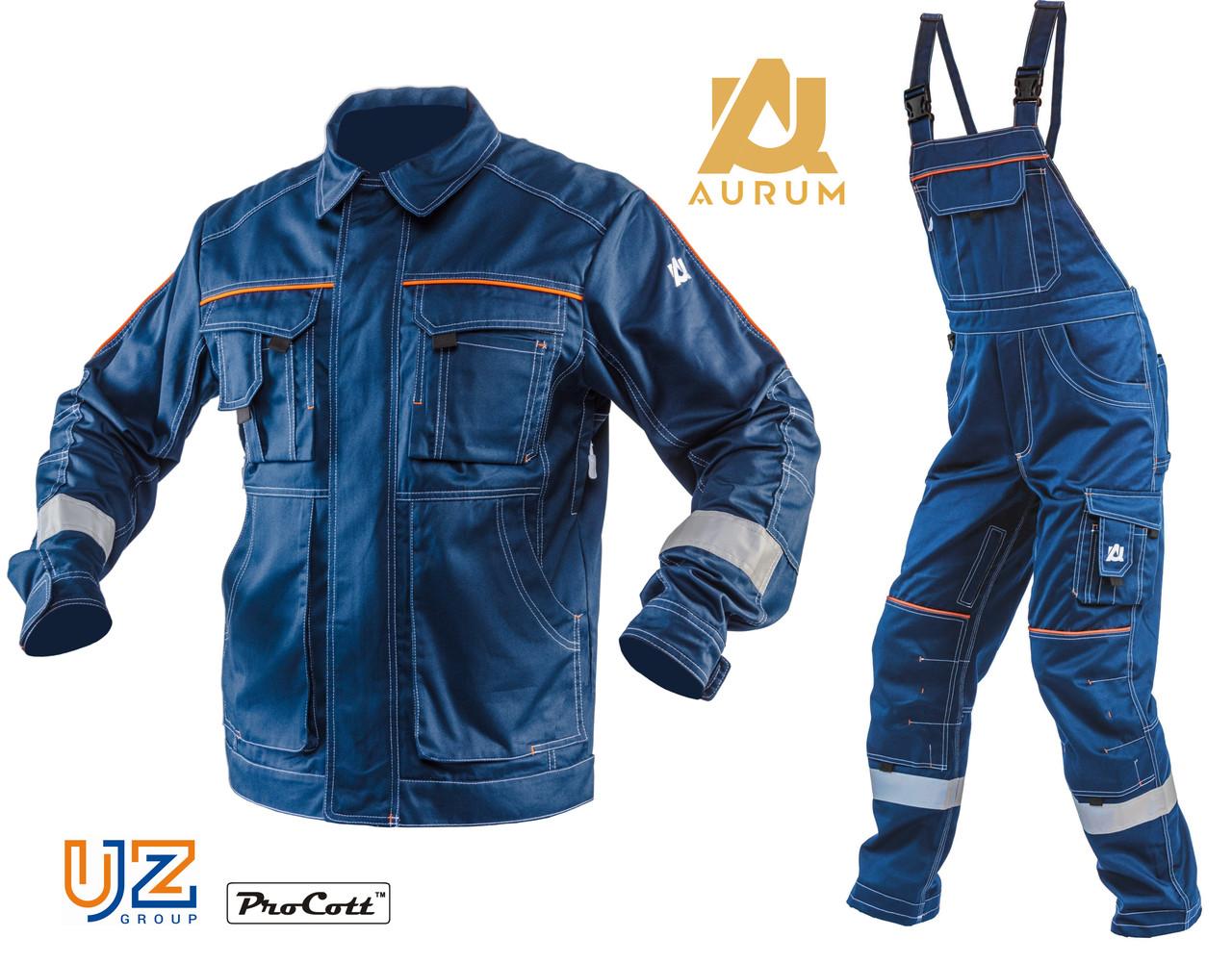 Костюм рабочий AURUM ANTISTAT: куртка и полукомбинезон