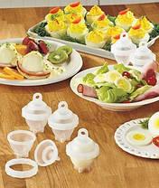 Формы для варки яиц без скорлупы яйцеварка Eggies, фото 2