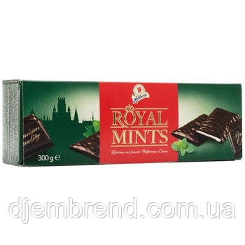 Конфеты шоколадные с мятной начинкой Royal Mints, Halloren, 300 г