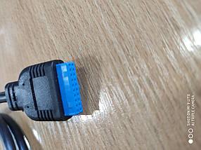 Шлейф шнур разъем USB 3.0 для крепления в корпус ПК новый
