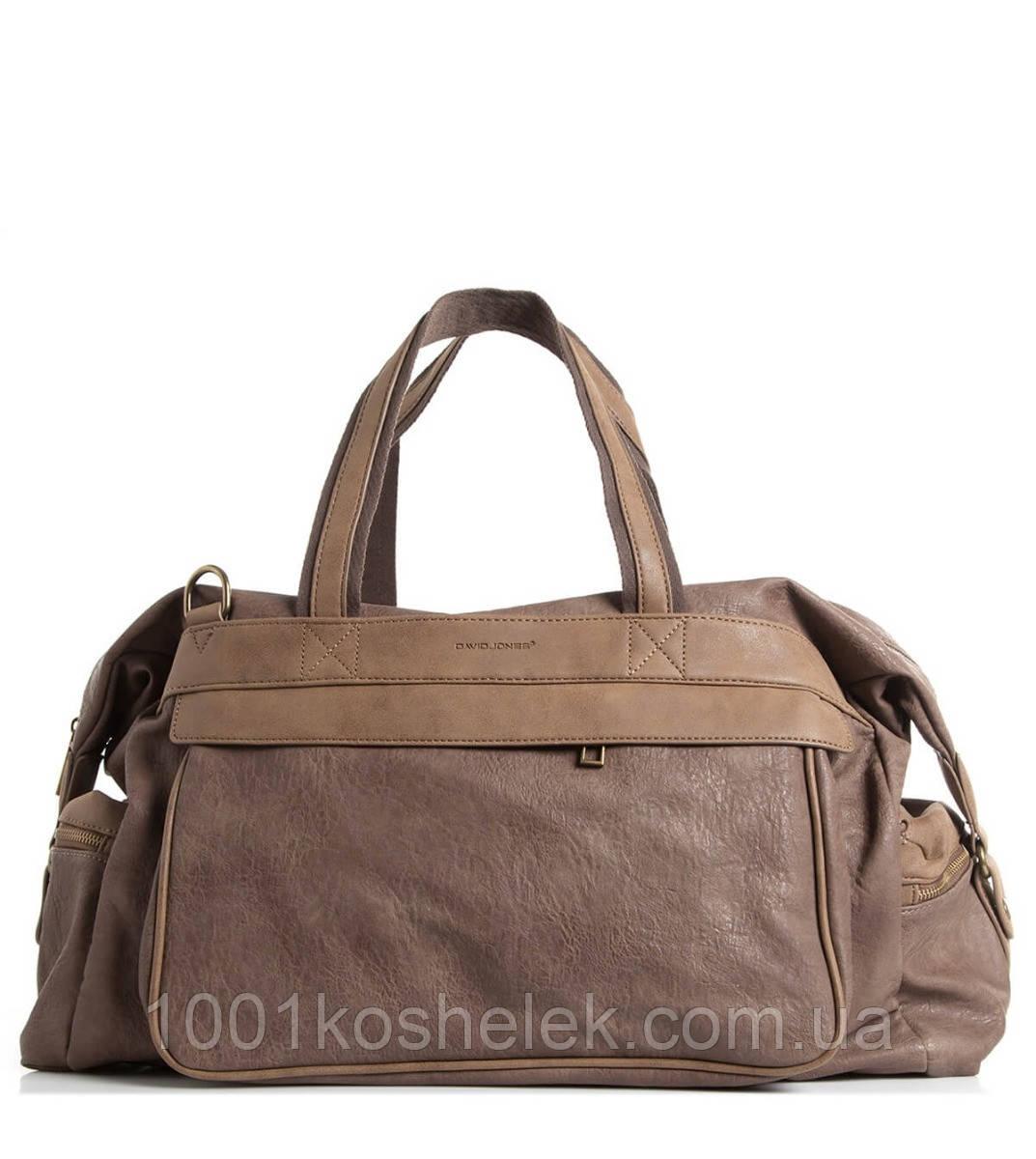 Дорожная сумка David Jones CM0798A (Тауп)