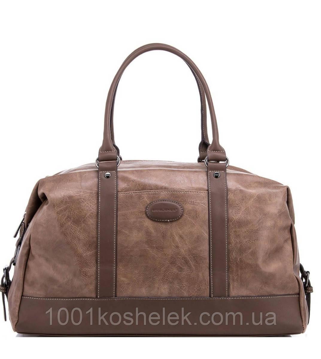 Дорожная сумка David Jones CM3258 (Кемел)