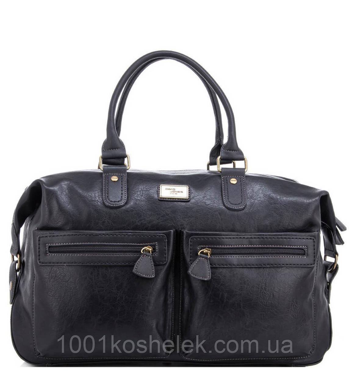 Дорожная сумка David Jones CM3553 (Черный)