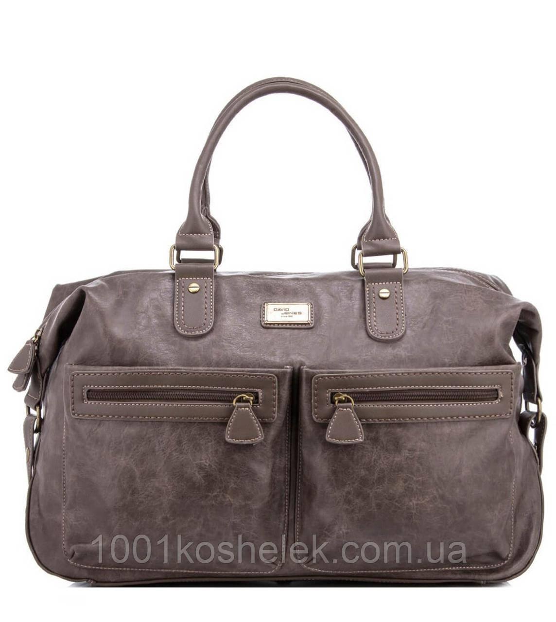 Дорожная сумка David Jones CM3553 (Тауп)