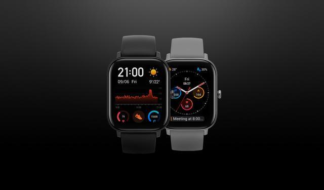 Смарт часы Xiaomi Amazfit GTS Obsidian Black