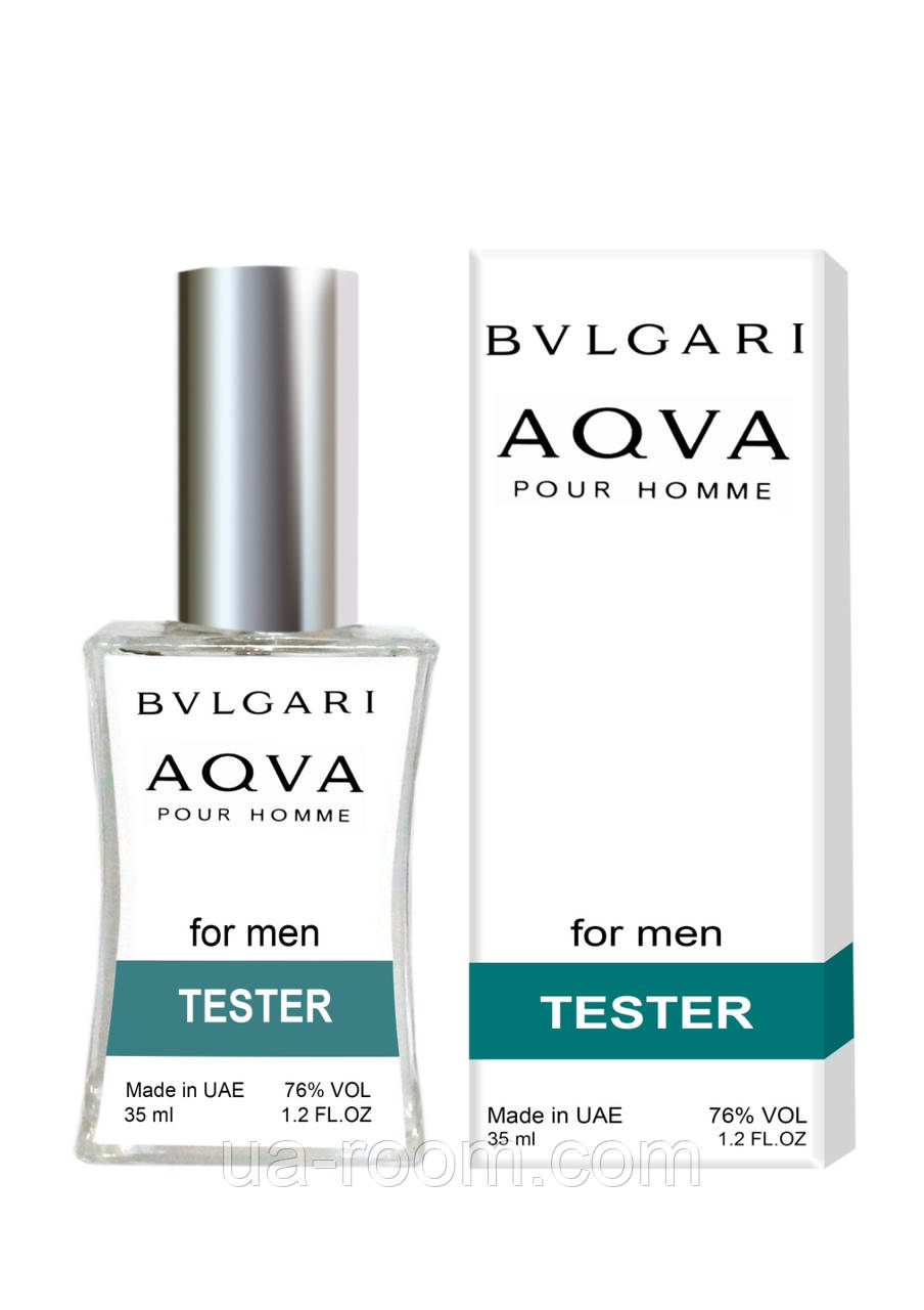 Тестер мужской Bvlgari Aqua Pour Homme, 35 мл.