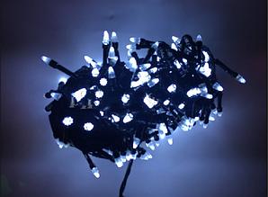 Гирлянда Конус 100 LED белый