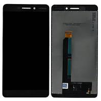 Дисплей Nokia 6.1 (TA-1043) Dual Sim complete Black