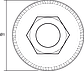 Дротяна Щітка чашкова 65 мм x М14, INOX, 57H581, Graphite, фото 4