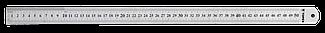 Лінійка 50 см, нержавіюча сталь, 31C050, Topex