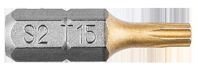 Біти, Насадки, HEX 15 x 25 мм, 2 шт., 57H972, Graphite