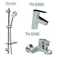 Набор смесителей для ванны TWIN (TN0200+TN0100+TN010)