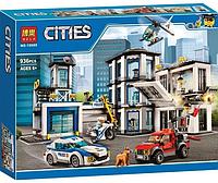 Конструктор BELA Cities Полицейский участок 936 деталей