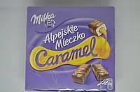 Конфеты Milka Alpejskie Mleczko Happy Cows птичье молоко карамель, 350 г