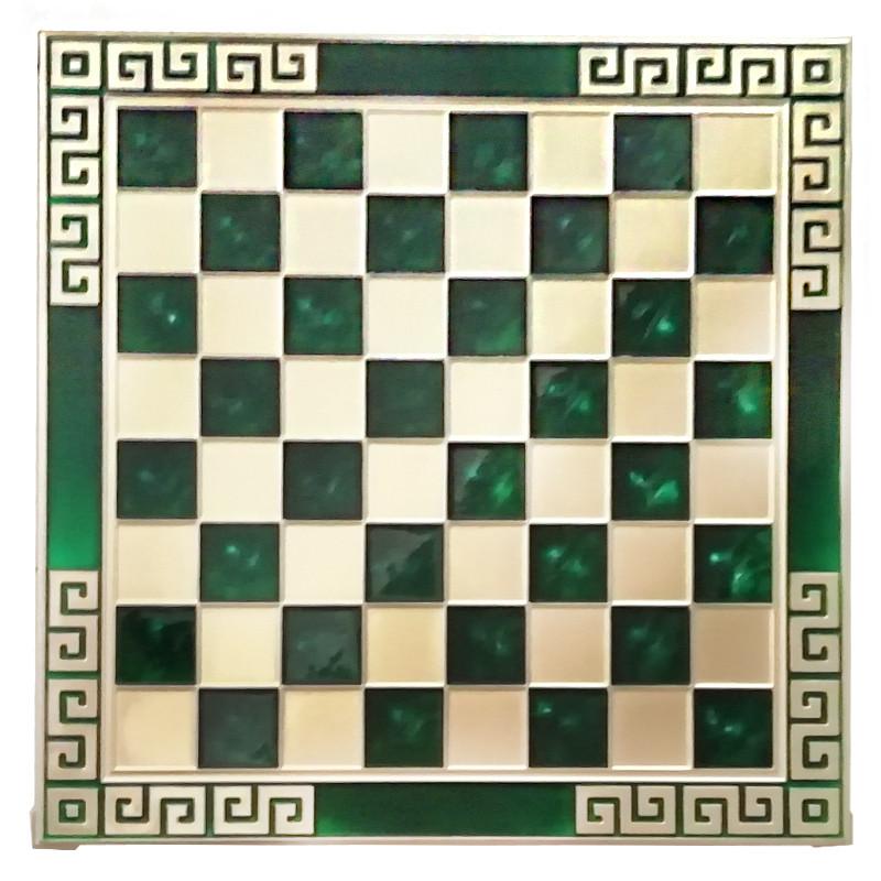 Шахматы Marinakis «Римляне», 45х45 см,зеленые (086-4503KG)