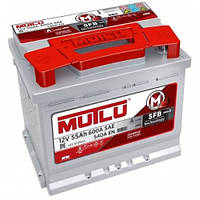 Аккумулятор Mutlu 55Ah, SAE 600, R, SFB Series3(Мутлу Turkey) автомобильный Работаем с НДС