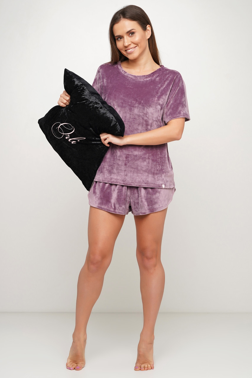 Махровая женская  пижама