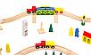 Детская деревянная дорога, колея 100ел., фото 3