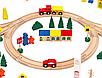 Детская деревянная дорога, колея 100ел., фото 4