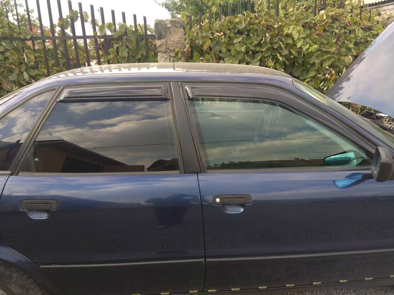 """Ветровики на  Renault Clio Hb 5d 2005-2009; 2009 деф.окон """"VL-Tuning"""""""