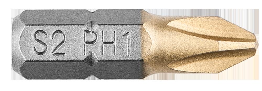 Біти, Насадки, PH1 x 25 мм, 2 шт., 57H960, Graphite