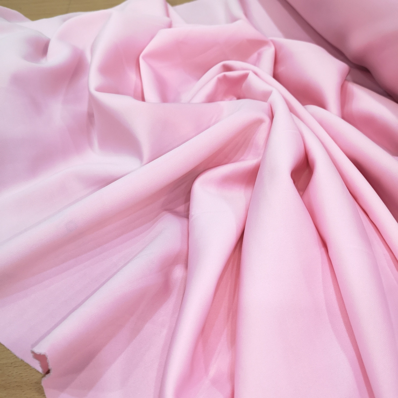 Трикотаж дайвинг розовый