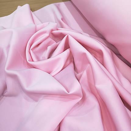 Трикотаж дайвинг розовый, фото 2