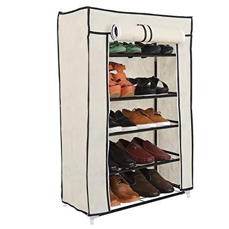 Складной тканевый шкаф для обуви FH-5556