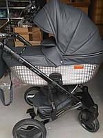 Дитяча універсальна коляска 2 в 1 Mikrus Comodo Silver 35 (еко-шкіра), фото 1
