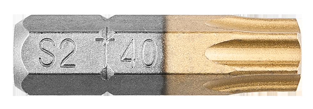 Біти, Насадки, HEX 40 x 25 мм, 2 шт., 57H977, Graphite
