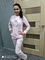 Женская пижама с пандой флисовая , Турция супер качество XL