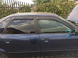"Ветровики на  Renault Scenic II 2003 деф.окон ""Cobra Tuning"""
