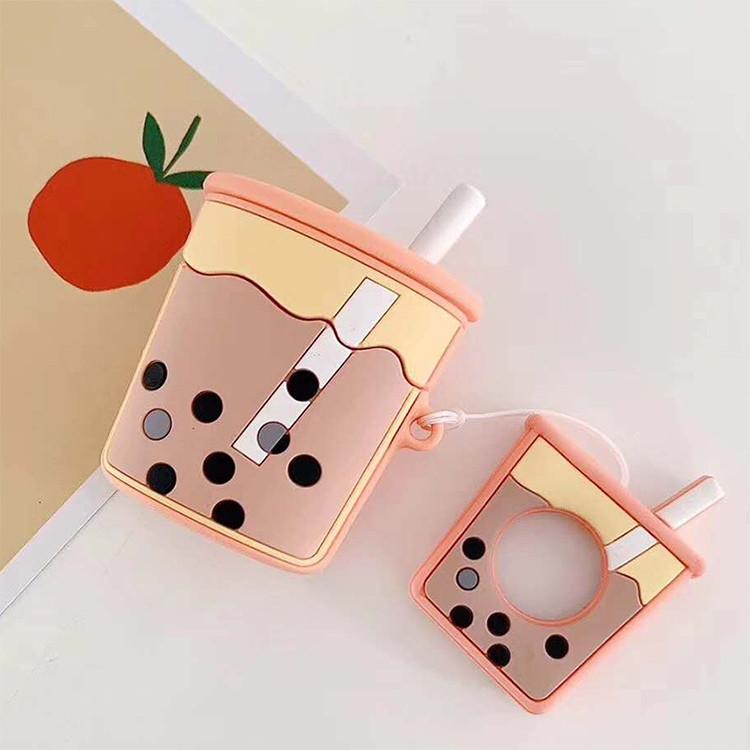 Силиконовый противоударный чехол - Airpods Apple. Напиток