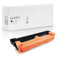Совместимый картридж Brother TN-2411 (TN2411) аналог от Gravitone™, чёрный, стандартный ресурс (1.200 копий)