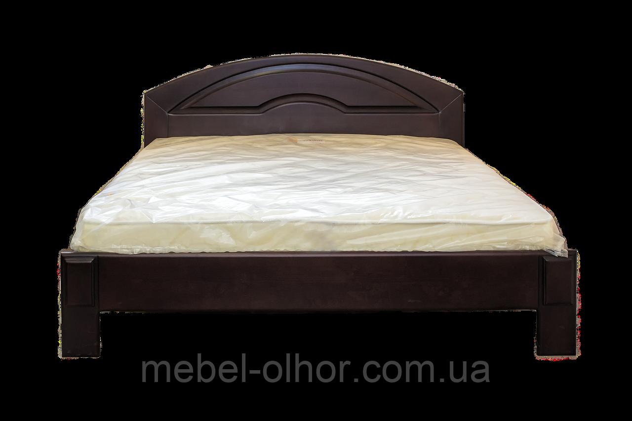 Кровать из дерева Кармен-1 двуспальная