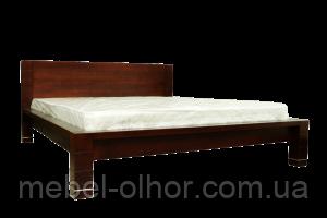 Кровать деревянная  Империя (орех)
