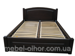 Кровать из натурального дерева Верона-венге.