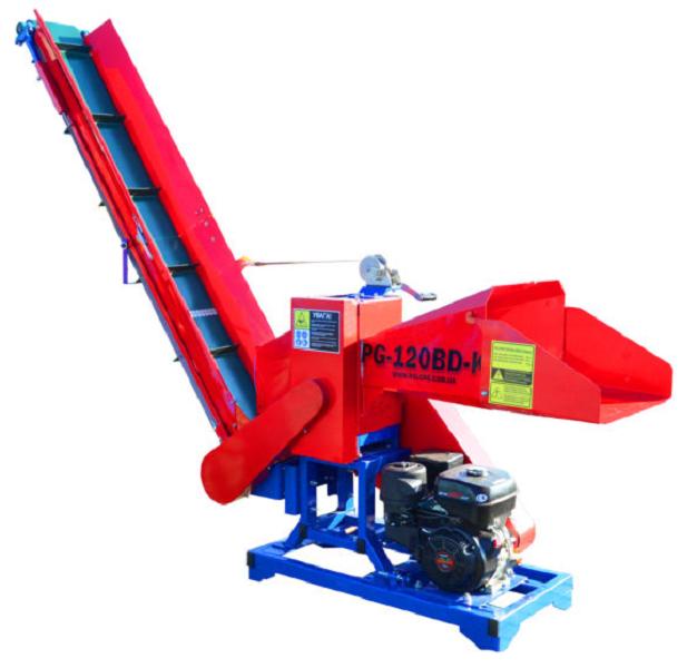 Подрібнювач гілок PG-120BD-K