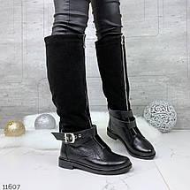 Модные сапоги на низком ходу, фото 3