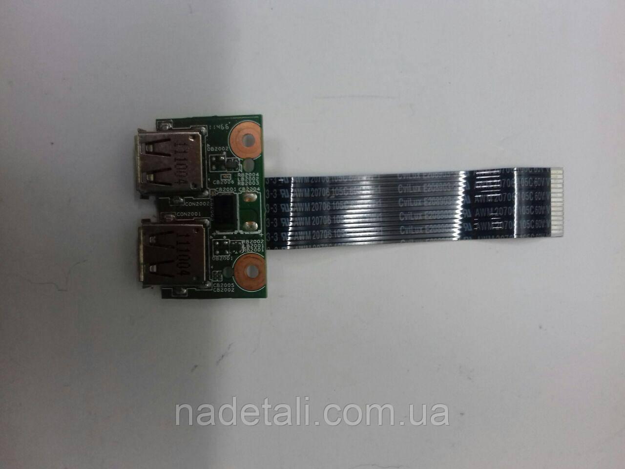 Плата USB HP 635 630 CQ57 CQ56 E253117 35110C100-04T-G