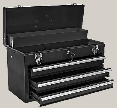 Ящик для інструмента , металевий, 52 x 22 x 30 см, 79R116, Topex