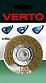 Дротяна Щітка дискова, 75 мм, хвостовик, 62H320, Verto, фото 2