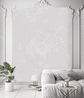 Рельефное дизайнерские панно с 3D Flowers & Butterfly 250 см х 155 см