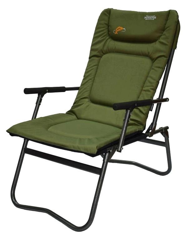 Кресло рыболовное складное Novator SF-4 (Кресло для рыбалки туристическое кресло карповое кресло)
