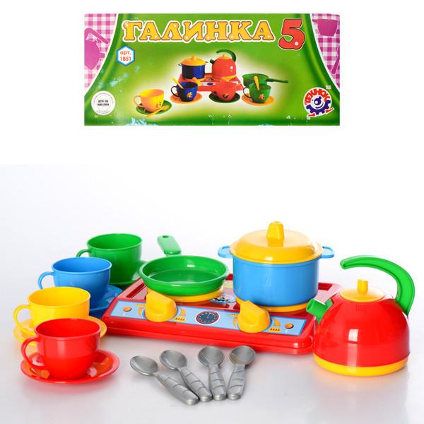 """Іграшка кухня """"Галинка 5 ТехноК"""""""