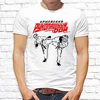 Мужская футболка Push IT с принтом Американский рукопашный бой