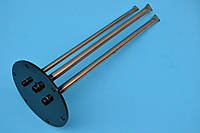 Фланец - колба для бойлера Gorenje Ø165 mm с нержавеющими трубками место под анод М6