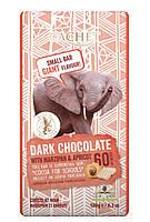 Черный шоколад CACHET Tanzania | Dark chocolate 60% cacao with Marzipan and Apricot | Марципан и абрикос 180 г