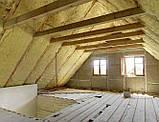 Утеплення даху, мансарди, перекриття мінватою, фото 2